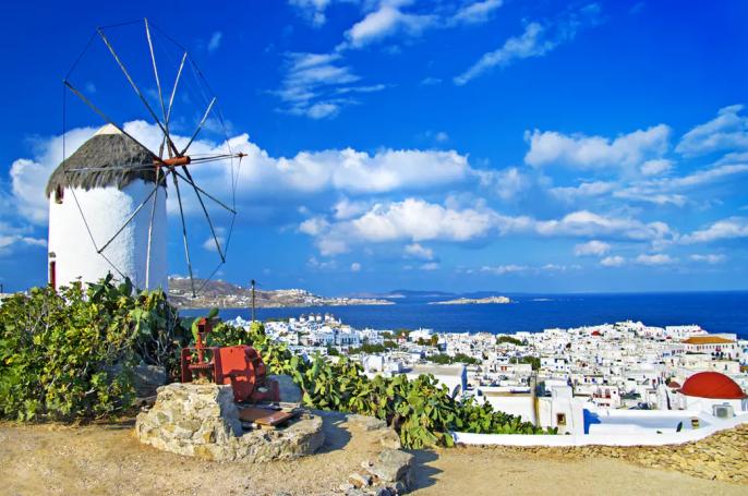 cruise Griekse eilanden, Mykonos