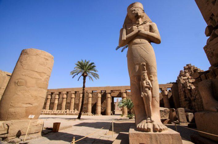Ramses II in Luxor