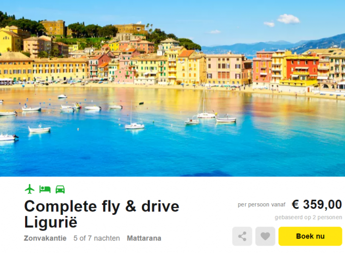 Fly and Drive Italie