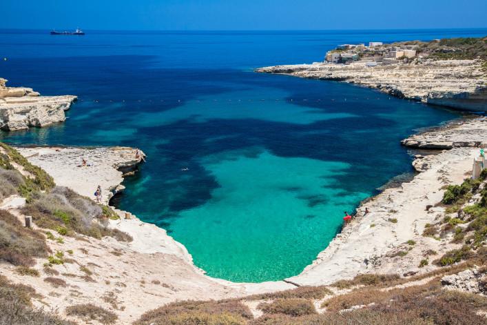 St. Peters pool - mooiste stranden op Malta