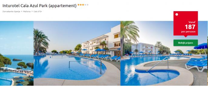 Screenshot Mallorca vakantie