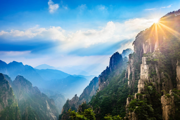 Gele Bergen China