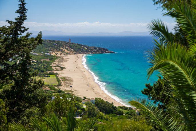German beach next Zahara de los Atunes