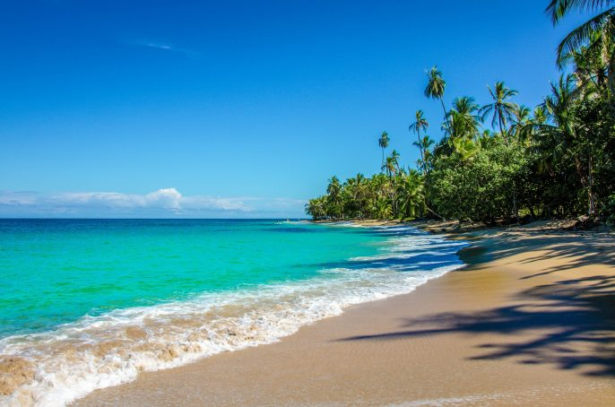 Caribbean beach close to Puerto Viejo – Costa Rica