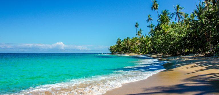Caribbean beach close to Puerto Viejo – Costa Rica