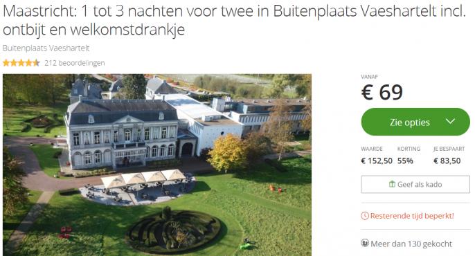 Kasteel Maastricht Buitenplaats Vaeshartelt