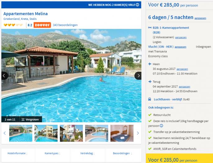 vakantie Kreta september