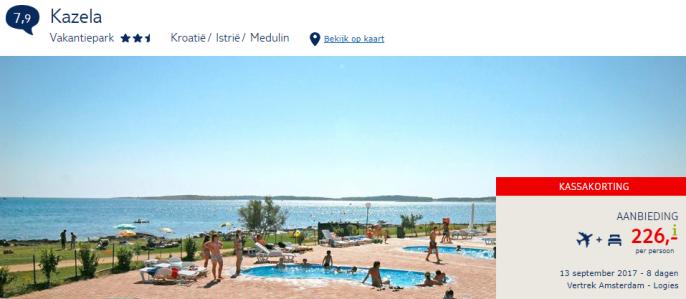 vakantie Kroatie Istrie