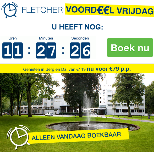 Fletcher Hotels Voordeel Vrijdag