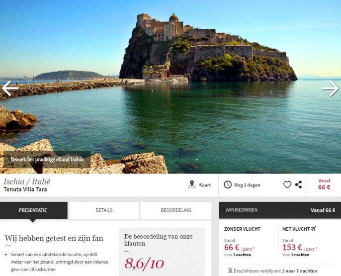vakantie Ischia