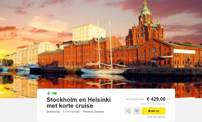 stedentrip stockholm helsinki