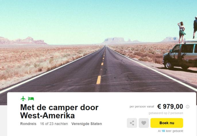 camperreis west-amerika