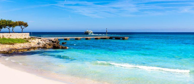 Strand van Mallorca