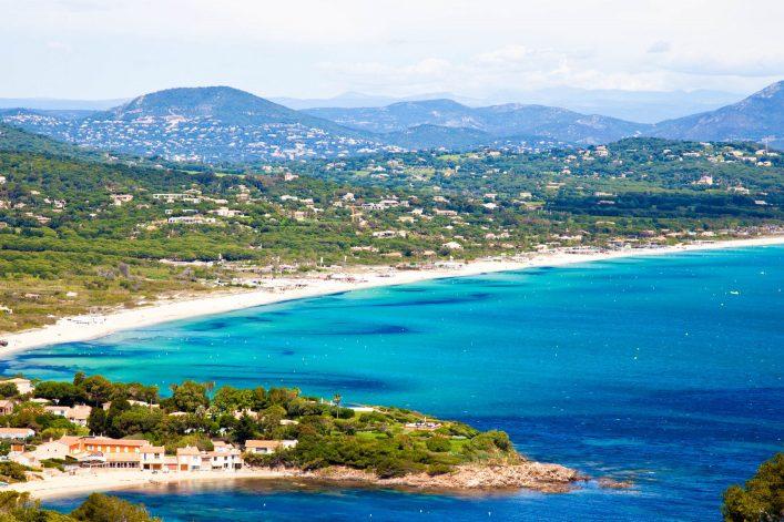 Pampelonne strand, Cote d'Azur