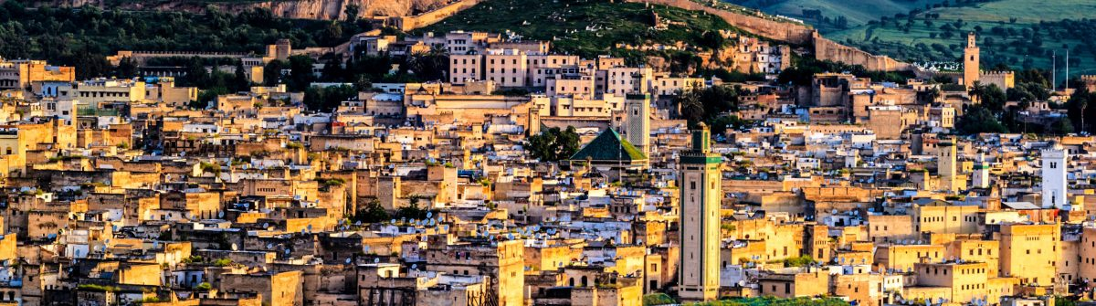 Panoramic view of Medina in Fez Marokko iStock_000033961994_Large-2