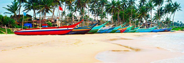 Sri lanka fisherman village