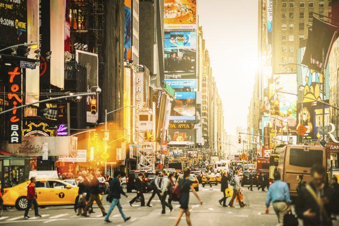 stedentrip New York Times Square