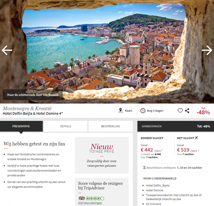 rondreis kroatie montenegro
