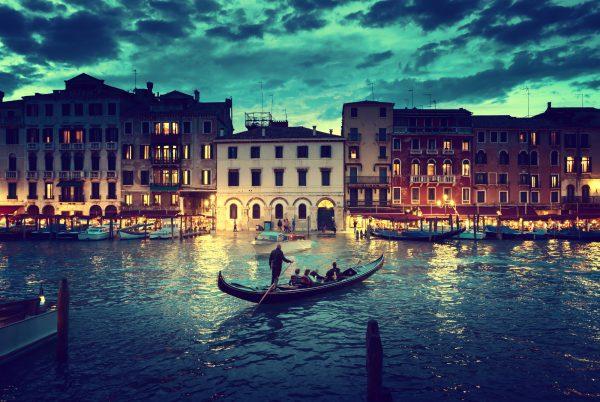 Een Venetiaanse gondel