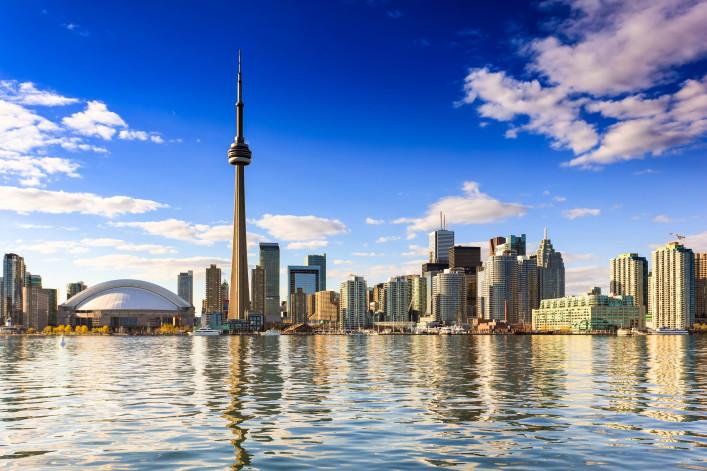 De CN Tower in Toronto