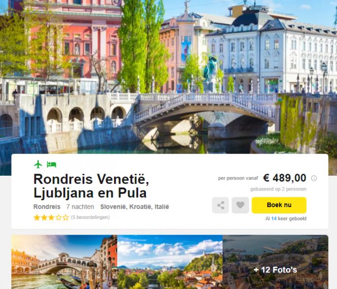 rondreis europa