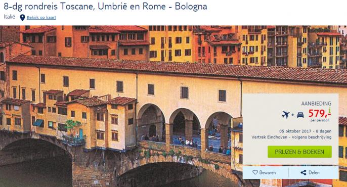 rondreis italie