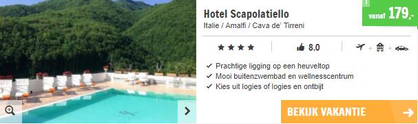 vakantie Amalfi huurauto