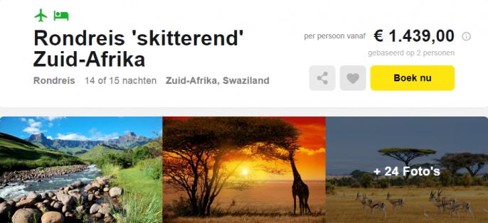 rondreis zuid afrika