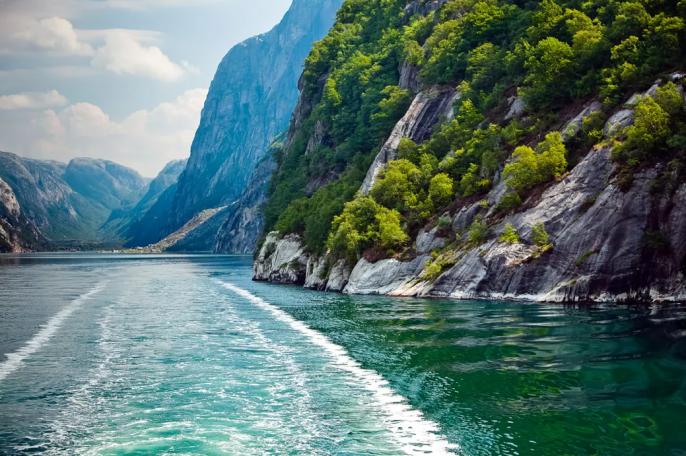Fjorden Noorwegen vakantie