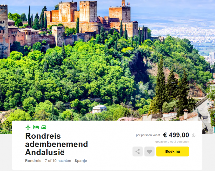 rondreis andalusie