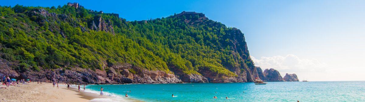 Stranden van Alanya