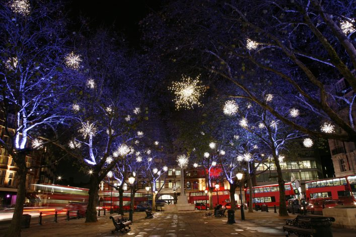 christmasshopping in Londen