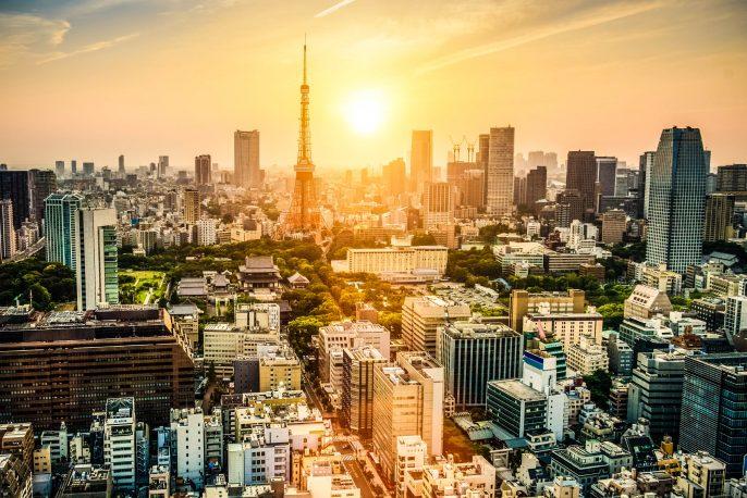 vliegtickets Tokyo