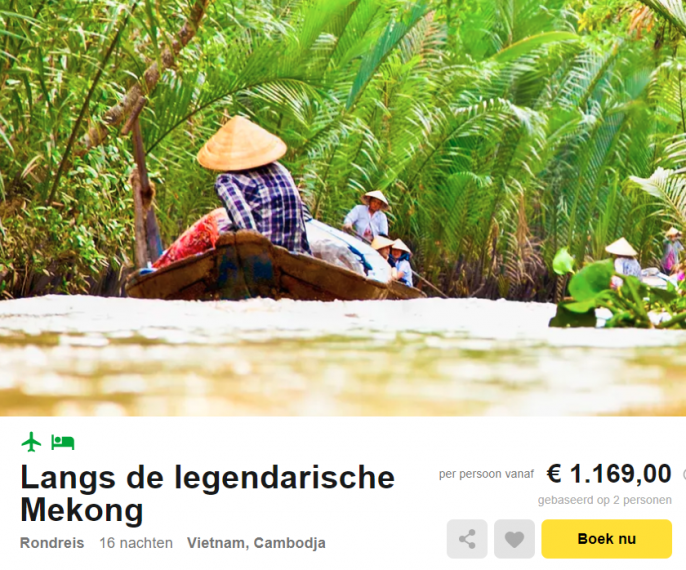 reis Vietnam Cambodja Mekong