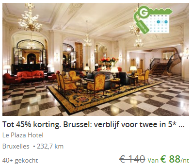 Plaza hotel Brussel