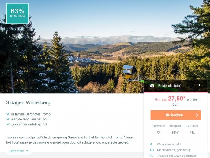 vakantie winterberg