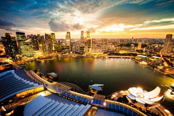 Wereldstad Singapore