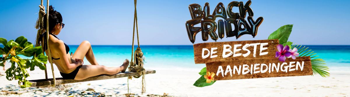 black friday vakantie