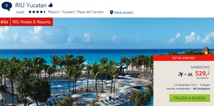 all inclusive Mexico RIU Yucatan