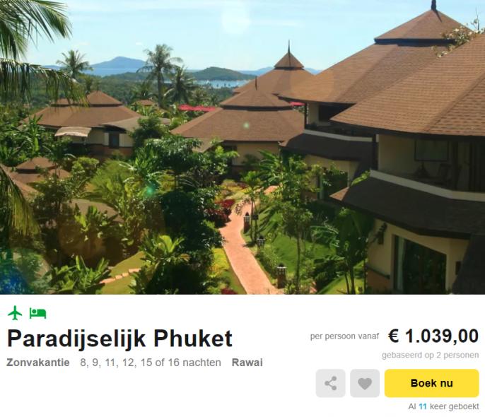 vakantie Phuket villa