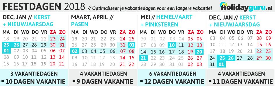vakantiedagen nederland