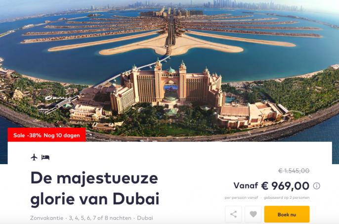 Screenshot Dubai deal
