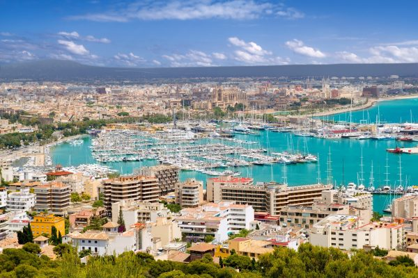 Uitzicht over Mallorca