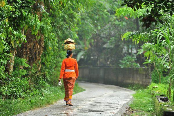 Vrouw in Indonesië