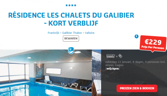 Wintersport Galibier