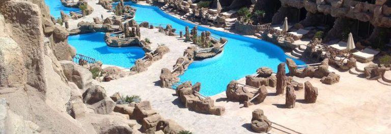 Grot hotel Egypte Caves Beach Resort