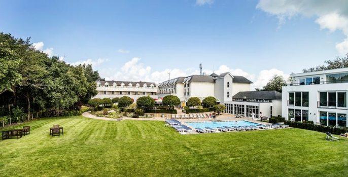 De tuin van hotel de Zeeuwse stromen
