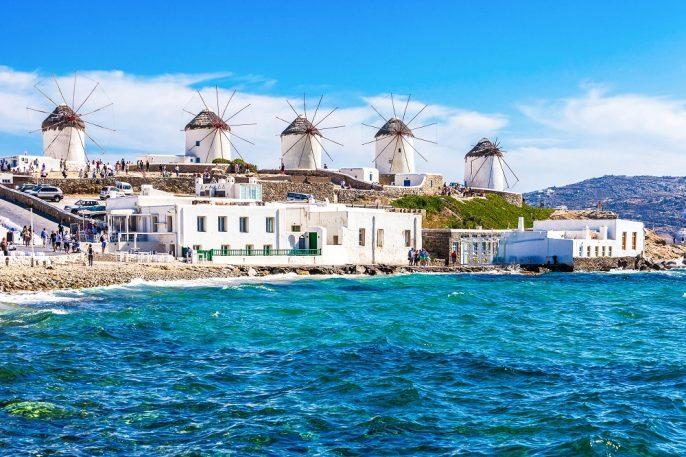 Griekse eilanden: Mykonos