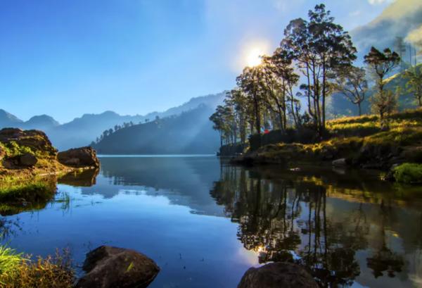 De natuur van Indonesië