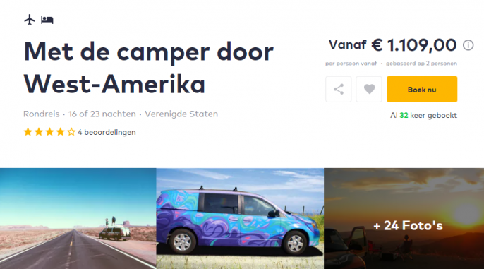 Screenshot Camper deal